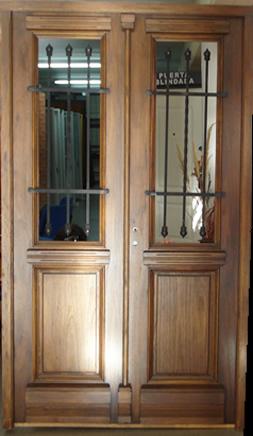 Cat logo l nea madera puertas de frente for Fabrica de ventanas de madera en buenos aires